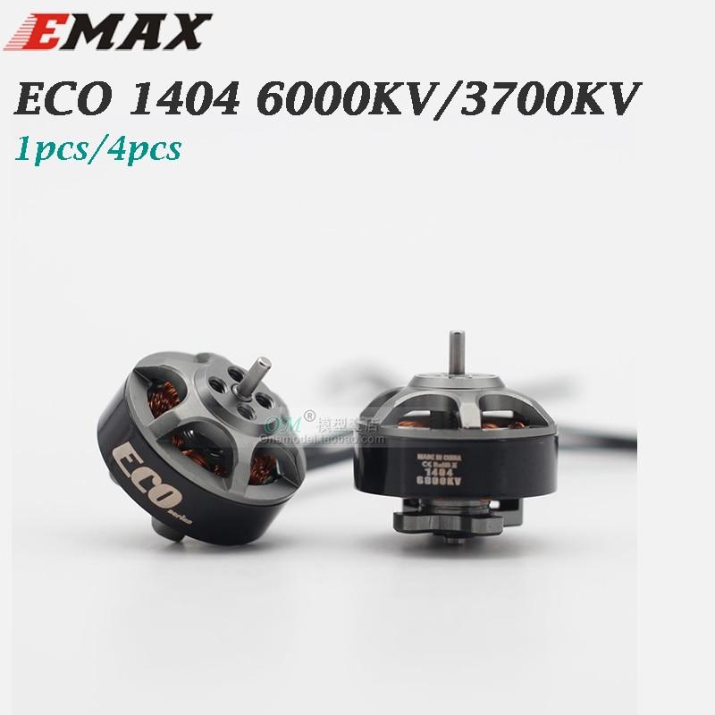 Бесщеточный двигатель EMAX ECO 1404 6000KV 2 ~ 4S CW для FPV Racing RC Drone, бесплатная доставка, 1 шт./4 шт.|Детали и аксессуары|   | АлиЭкспресс