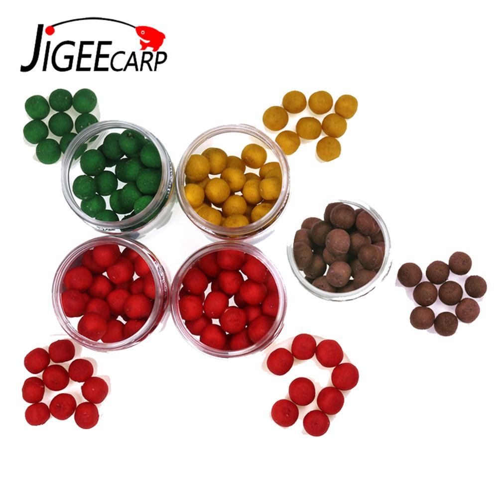 JIGEECARP Wholesale Carp Fishing Boilies Carp Bait Ball Smell Pop Ups Boilies Floating Ball Beads Carp Fishing Bait 10-12MM