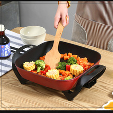 Steamer Frying-Pan Electric Multifunctional Cookers-Skillet 1600W Boiler Fried-Eggs Non-Stick