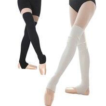 נקבה יומי ללבוש פעילות גופנית סרוג רגל מחממי מגן גרבי נשים גרבי יוגה כושר ריקוד כושר פילאטיס ריקוד אבזר