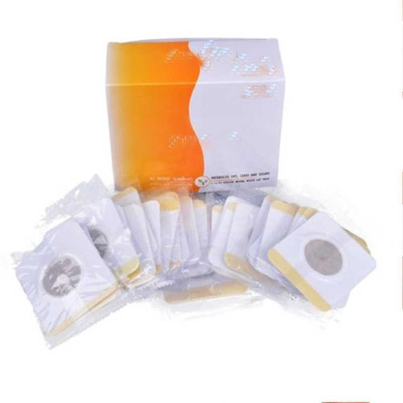 30 unids/caja de parches delgados para el ombligo, productos adelgazantes para el Abdomen, productos adelgazantes para la cintura, energía anticelulítica, productos para perder peso Unisex