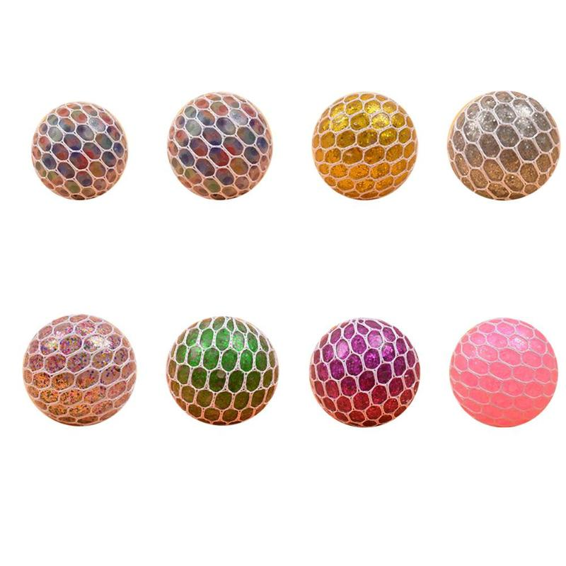 Stress Relief Toy Antistress Grape Ball Funny Squeeze Toy Stress Relief Healthy Toy Supplies