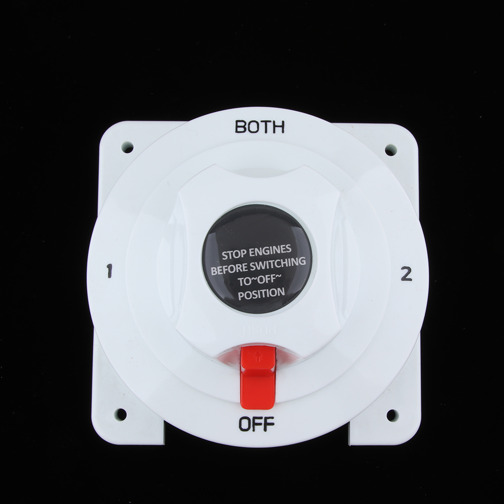 Marine Dual Battery Selector Switch For Boat RV Motor Replacement