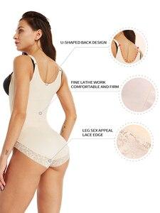 Image 4 - shapewear body tummy shaper sheath belly slimming belt corrective underwear reducing shaper reductive strip woman modeling strap