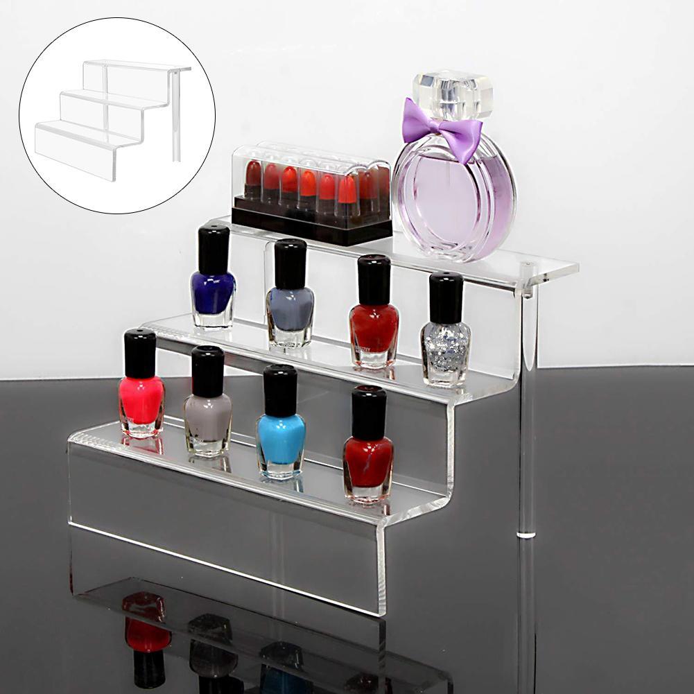 3 Acrylic Display Rack Cupcake Jewelry Toy Storage Display Stand organize Holder