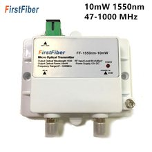 Micro transmetteur optique FTTH 10mW, fibre optique monomode 47-1000MHz 1550nm avec SC/APC