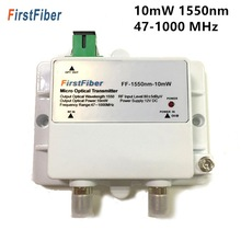 FTTH 1550nm Catv Fiber-Optic Micro-Optical-Transmitter SC/APC Model 10mw with 47-1000mhz