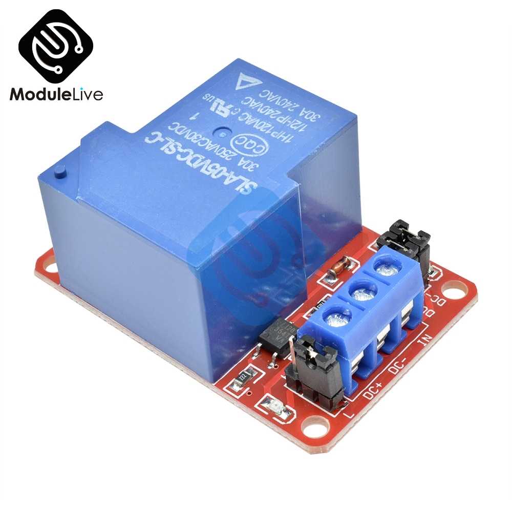5V 1 Channel Relay Module with Opto H//L High Level Trigger for Arduino UK