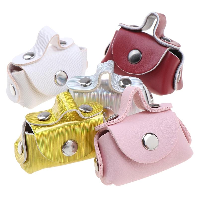 1 Pcs/lot Fashion 1/6 Doll Accessories Doll Handbag Lady Leather Bag Purse Accessories Dollhouse Kids Toy
