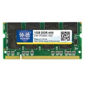 Модуль оперативной памяти для ноутбука Xiede Ddr 400 1 ГБ Pc-3200 Ddr1 200Pin Dimm 400 МГц для ноутбука X007