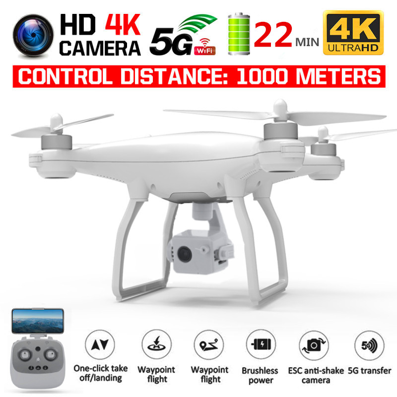 KALIONE K777 PRO GPS Drone RC Quadcopter 4K 3-Axis Gimbal Stabilizer Camera Dron Professional Drones 22Mins time VS X35