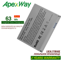 Apexway 11.1 v 63 whportátil bateria a1189 para apple macbook pro 17 mama611b a1151 a1212 a1229 a1261 ma458 ma458 */a ma458g/a ma458j/a Baterias p/ laptop     -
