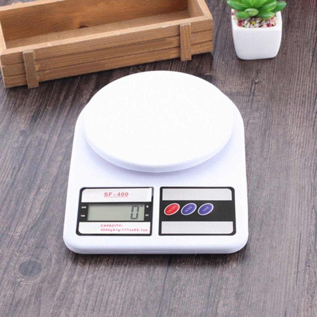 Высокоточные цифровые весы SF400 7 кг/1 г, высокоточный датчик деформации, цифровые весы-4