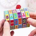 2 шт./лот популярные модные детские пластиковые игрушки, таблица умножения 99, математическая игрушка