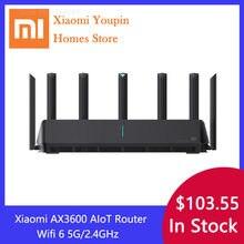 XIAOMI – routeur double bande AX3600 AIoT wi-fi 6 5G, 600 mo, 2976 mo, Gigabit, A53, amplificateur de Signal externe, extension de réseau, Original