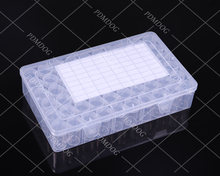60 бутылок банка квадратная коробка для алмазной живописи аксессуары