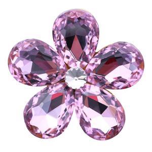 Image 3 - Pingente de Flor de cristal Acessórios para Meninas Enfeites de Decoração Do Carro Dashboard Ar Condicionado Tomada Perfume Decoração Interior
