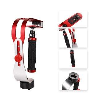 Image 5 - Cầm Tay Tay Cầm Steadycam Stabilizer Ổn Định Camera Với Điện Thoại Kẹp Lấp Đầy Đèn Cho Canon Gopro Hero DSLR DV Steadycam Phụ Kiện