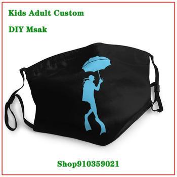 High Quality Scubrella The Odd Combo Of A Scuba Diver Using An Umbrella washable reusable face mask DIY mascarilla reutilizable