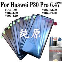 """47 Shyueda 100% New For Huawei P30 Pro 6.47"""" VOG-L04 VOG-L09 VOG-L29 VOG-AL00 VOG-TL00 Outer Front Screen Glass Lens Replacement (1)"""