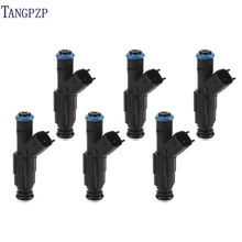 SET 6PCS high quality nozzle fuel injector 0280155784 For Jeep Cherokee 99-01 for Grand Cherokee 99-04 FOR Wrangler 97-04 4.0L