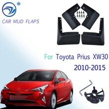 Car Mudflaps For Toyota Prius XW30 2010   2015 Fender Mud Guard Flap Splash Flaps Mudguard Accessories 2011 2012 2013 2014