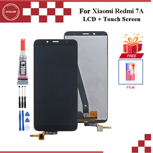 Image 1 - ocolor For Xiaomi Redmi 7A LCD Display And Touch Screen Digitizer Assembly 5.45 For Xiaomi Redmi 7A Screen With Tools+Adhesive