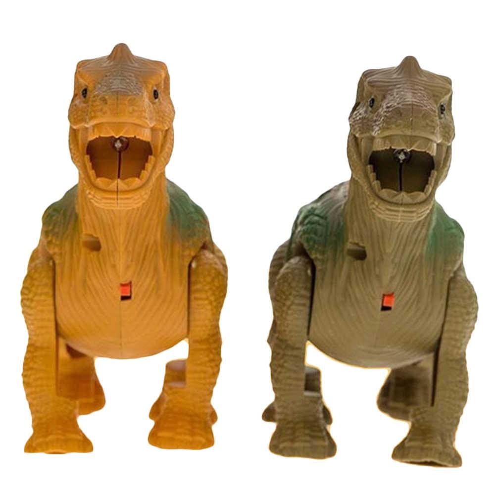 חשמלי הליכה דינוזאורים אור קול צעצועי חיות דגם לילדים ילדי דינוזאור פעולה איור דגם צעצועי ילדים מתנות #40