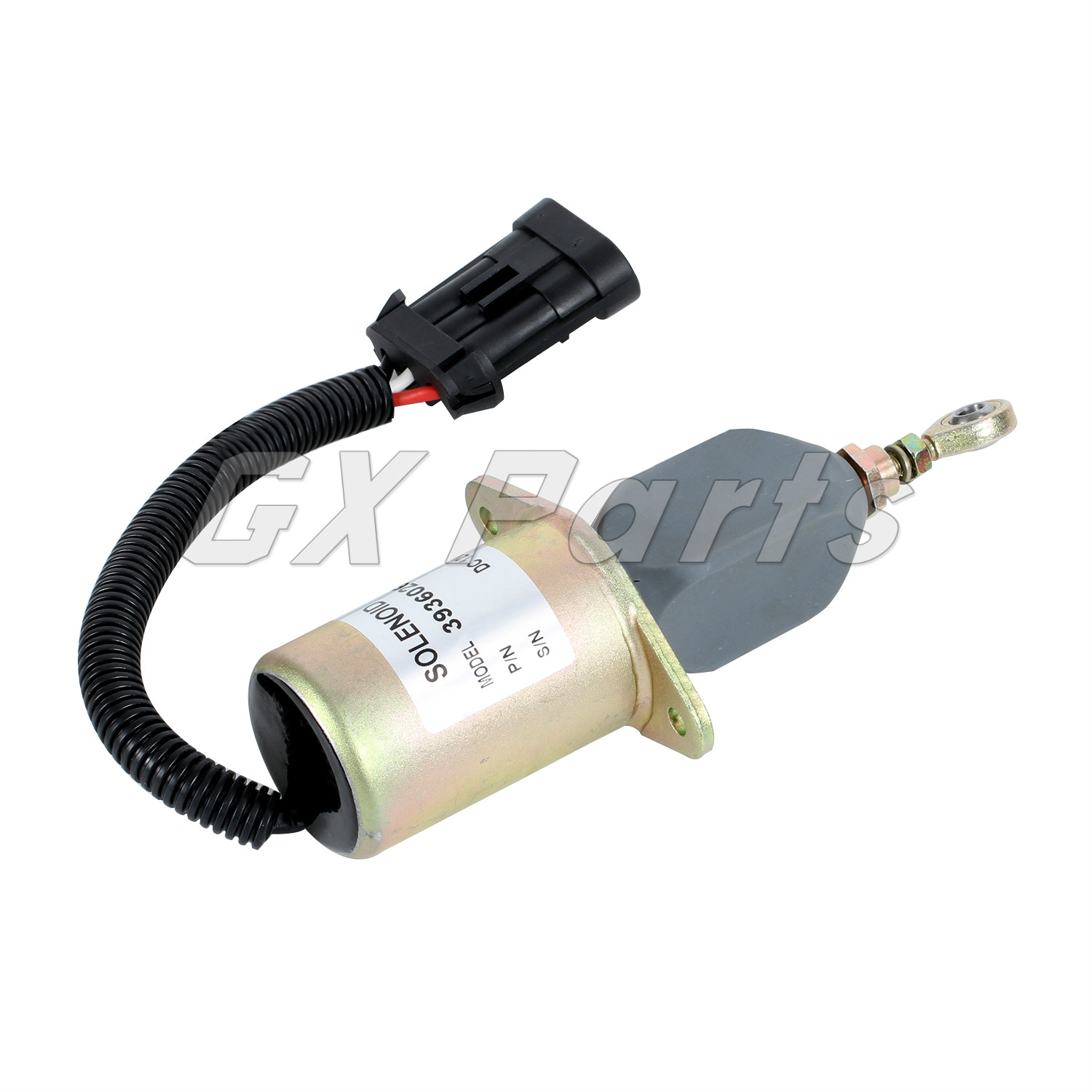 OFFERPARTS P//N:3928160,12V shutdown solenoid,shut off stop solenoid fit to CUMMINS 6CTA 8.3L engine