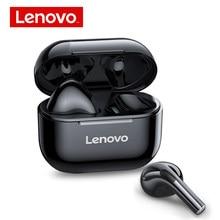 Nova lenovo lp40 tws bluetooth 5.0 fones de ouvido sem fio ip54 à prova dhifi água alta fidelidade sem fio com microfone esportes