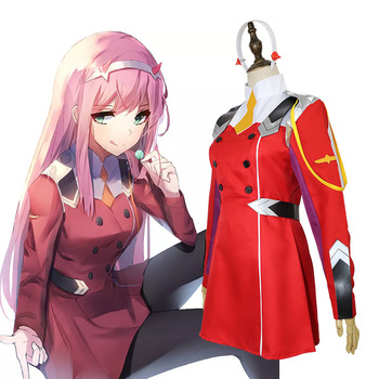 HISTOYE The Sci-Fi TV Animation DARLING in the FRANXX Costume Tomatsu Haruka Cosplay Clothing for Women Halloween Costume Party image