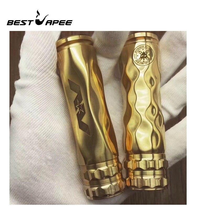 RDA Mech Mod Kit NEWEST Gear Button Adapt AV Series AV Avidlyfe MOD Button Brass Material Electronic Cigarette Mechanical Mods