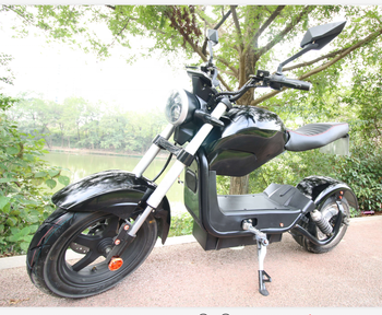 EEC/COC Approved 1500w Powerful M3 Motorcycle Electric Citycoco Scooters Adult EU STOCK 60V 20AH Electric Motorcycle 55KM 1