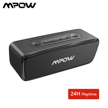 Mpow Soundhot R6 Bluetooth Speaker 12W Altoparlante Portatile Senza Fili Profonda Bass Soundbar Con 24H Tempo di Gioco Per La Casa teatro Del Computer