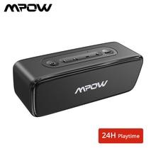 Mpow Soundhot R6 Bluetooth Speaker 12W Draadloze Draagbare Speaker Deep Bass Soundbar Met 24H Speeltijd Voor Thuis theater Computer