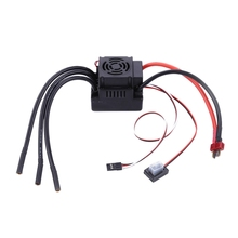Sensorless Brushless ESC Electric Speed Controller with 5.5V / 3A BEC for 1/8 RC Car gleagle cloud 100a brushless w o bec esc rc speed controller for brushless motor rc helicopter rc airplane
