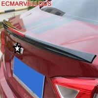 Automovil personalizado atualizado peças decorativas modificação automóvel estilo do carro spoilers asas 17 para chevrolet cruze