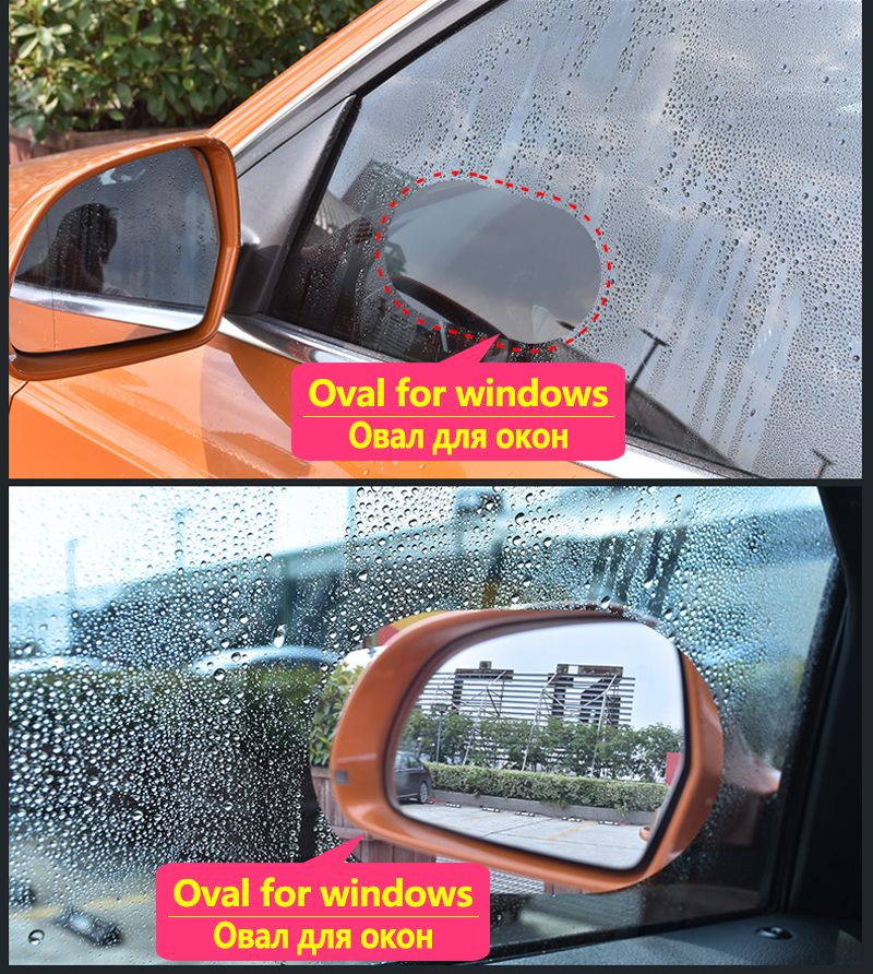 For Volkswagen VW Vento 2010 2019 Full Cover Anti Fog Film Rearview Mirror Rainproof Anti Fog Films Clean Car Accessories 2017 in Car Stickers from Automobiles Motorcycles