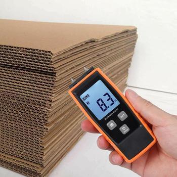 Handheld Mini Digital Lcd Moisture Humidity Meter Wood Plant Hygrometer Drywall For Timber Detector P7M6