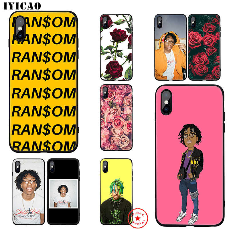 IYICAO Lil Tecca Rapper Soft Case for iphone 11 Pro Xr Xs Max 6 6s 7 8 Plus 5 5s Se Silicone TPU 7 Plus