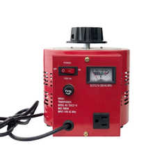 TDGC2 Type 500VA1000VA 2000VASingle Phase Manual Variac Transformer Contact Voltage Regulator Input 110v Output 0-130VAC 50/60Hz