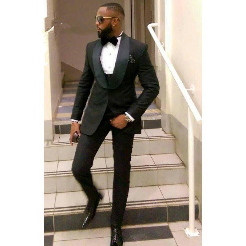 Black-Slim-Fit-Men-Suits-for-Groom-Wedding-Tuxedos-2020-shawl-Lapel-Custom-Male-Blazer-3