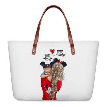 WHEREISART Women Bags Handbags 2019 Famous Brands African Beach Bag Bolsa Feminina Afro Black Girls Tote Bags PU leather Purse 2
