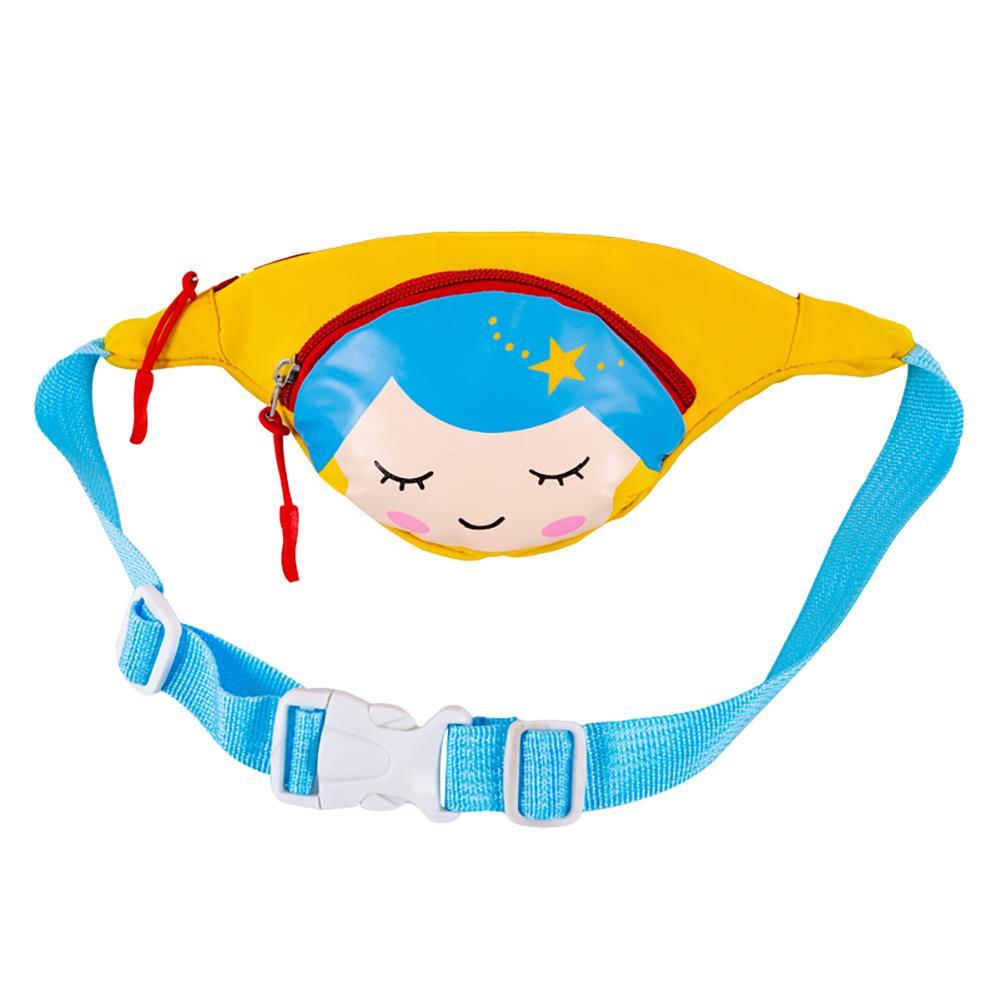 Hot Travel Cute Cartoon Girl Children Kids Zipper Casual Waist Chest Bag Small Fanny Pack Belt Packs Pochete поясная сумка