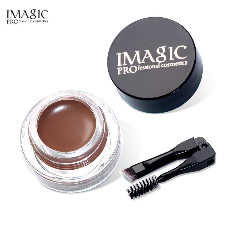 Imagic 3 conjunto longo curling rímel à prova dwaterproof água fosco delineador profissional sobrancelha gel 6 cor lápis sobrancelha maquiagem dos olhos