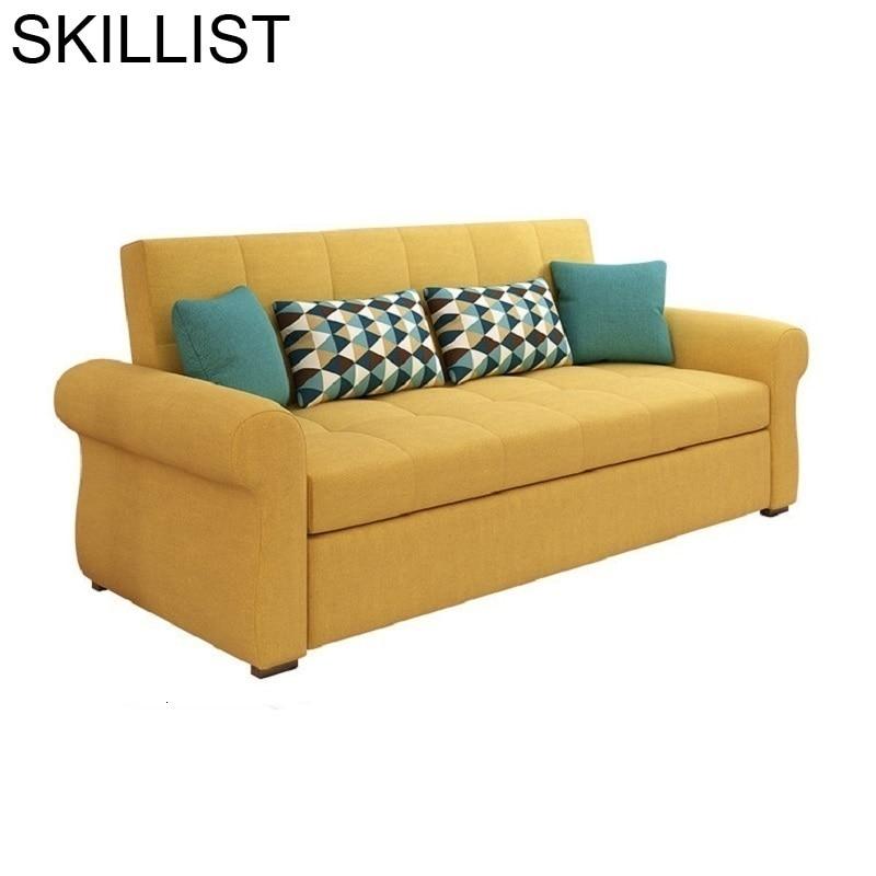 Sillon Couche For Folding Puff Para Meble Cama Plegable Couch Mobili Mobilya Mueble De Sala Set Living Room Furniture Sofa Bed