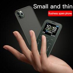 Soyes Mini Card Phone Single Camera Slim Light Student Child Large Display Big Keyboard Vibration Portable Cellphone