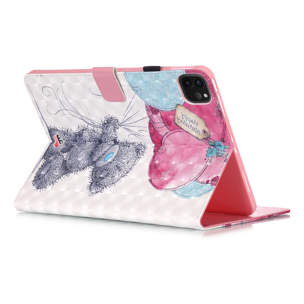 Fashion Painted Stand Case for IPad Pro 11 2020 Case 2018 PU Leather Cover Case for