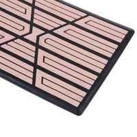 2020 New Car Floor Carpet Pad Heel Foot Mat Pedal Patch Cover 23x15cm Car Mat Anti-skid