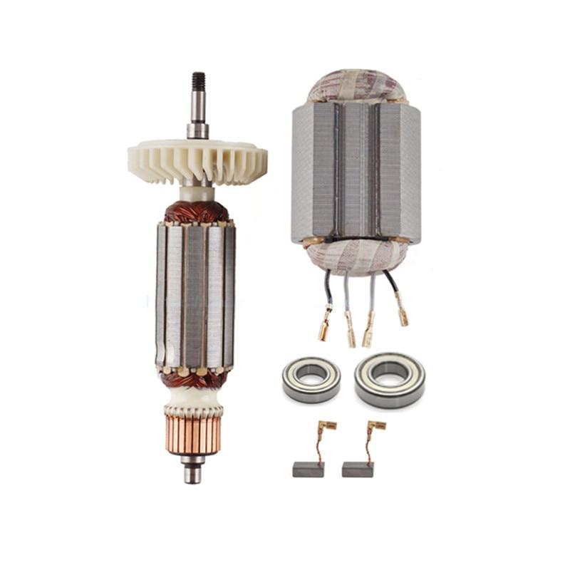 AC220-240V Armature Rotor Replace For MAKITA 510107-9 9557NB 9558HN 9557HN 9558NBR 9556HN 9558NB 9556NB